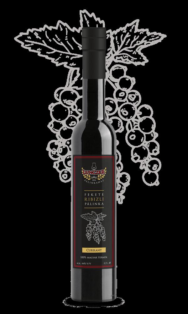 lunczer prémium fekete ribizli pálinka 0,5