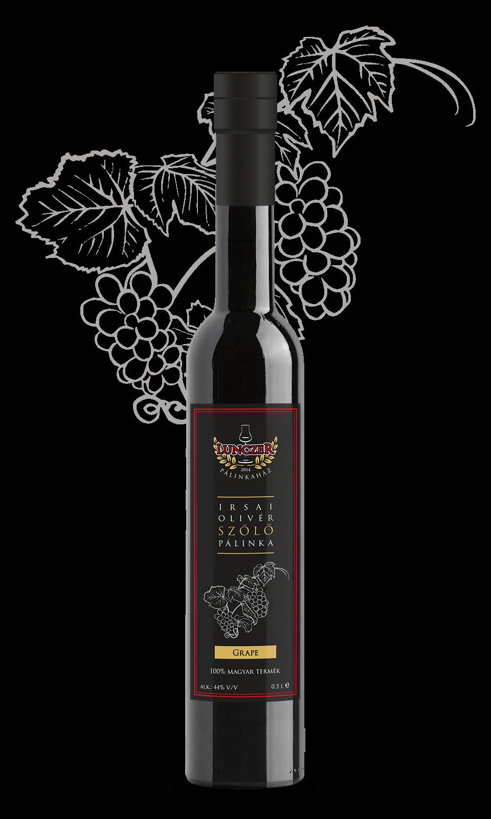 irsai olivér szőlő pálinka